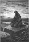 23 Isaiah kneeling