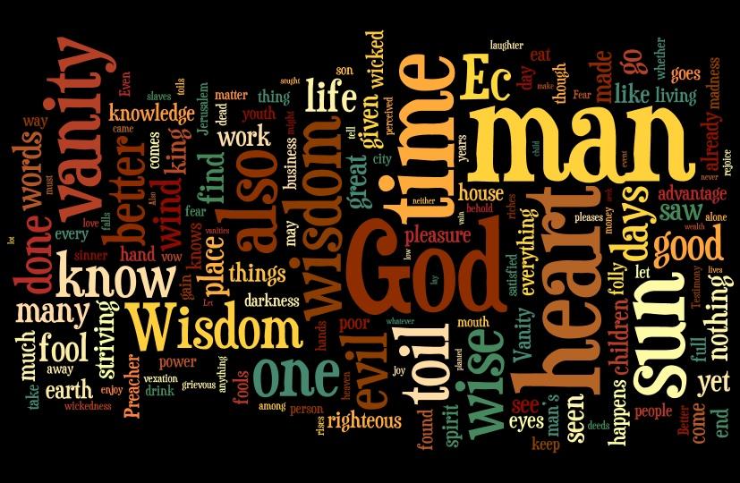 21 Wordle Ecclesiastes