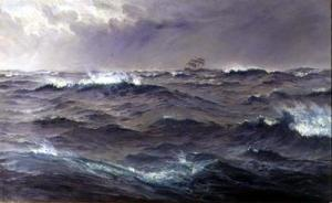 26 dark rough seas