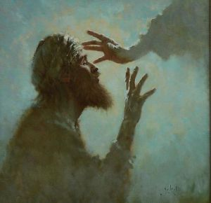 40 Jesus heals blind man